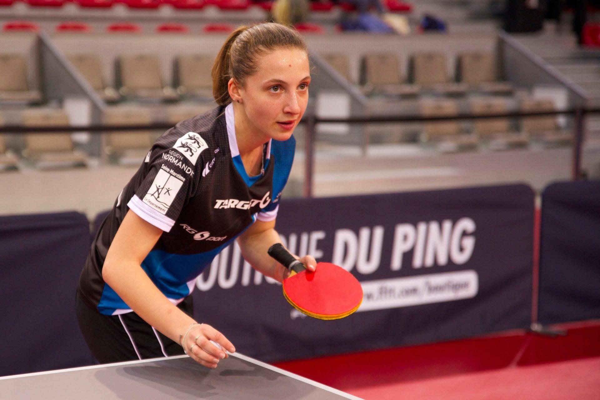 Stéphanie Loeuillette, pongiste conquérante