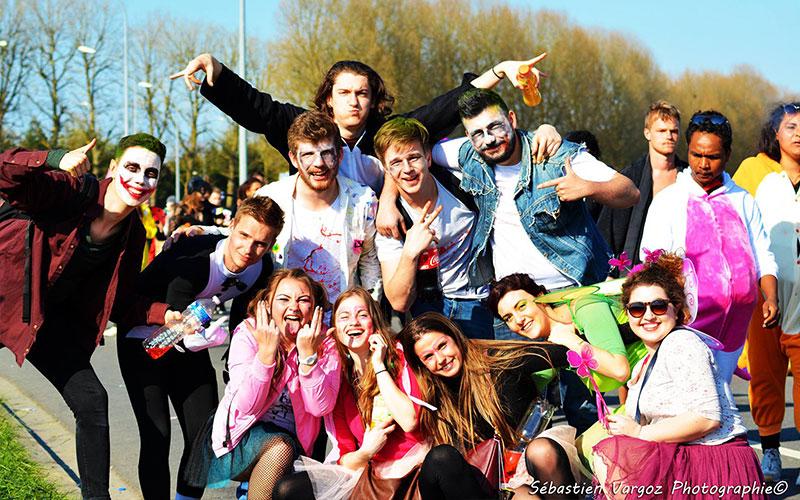 Le plus grand carnaval étudiant d'Europe…est normand !