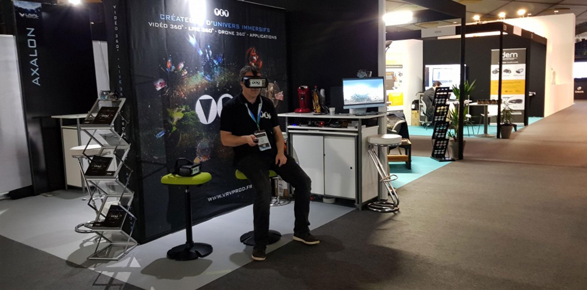 La Normandie connectée au Laval Virtual
