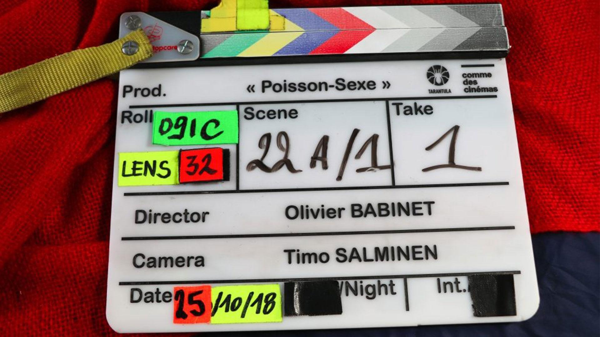 En direct d'un tournage…