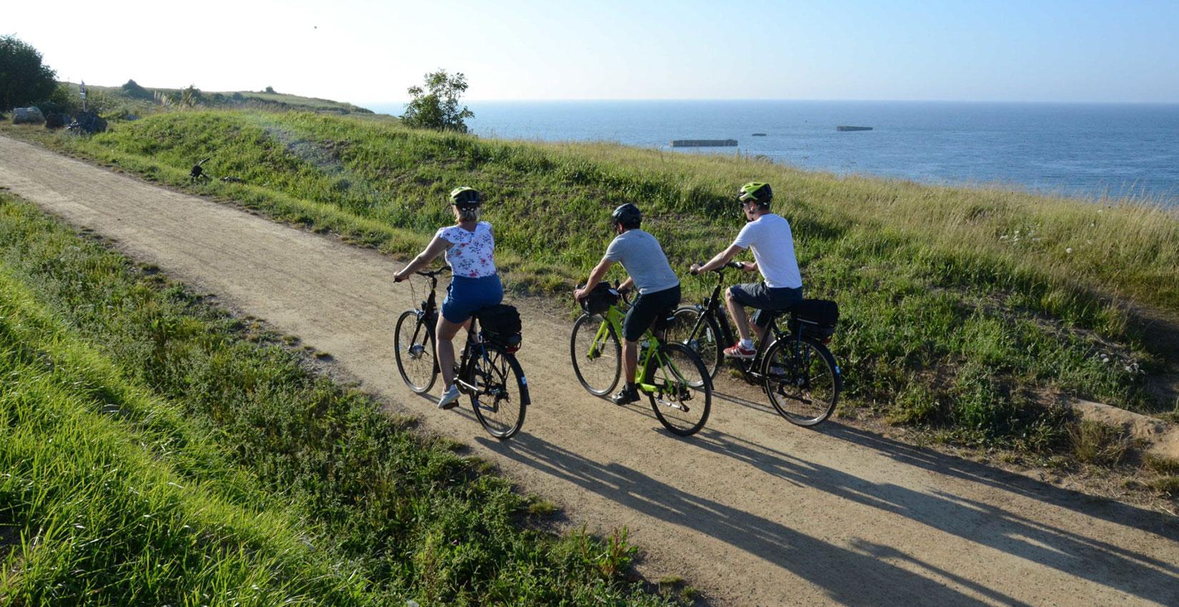 Hugo Guillochin : découvrez la Normandie à vélo