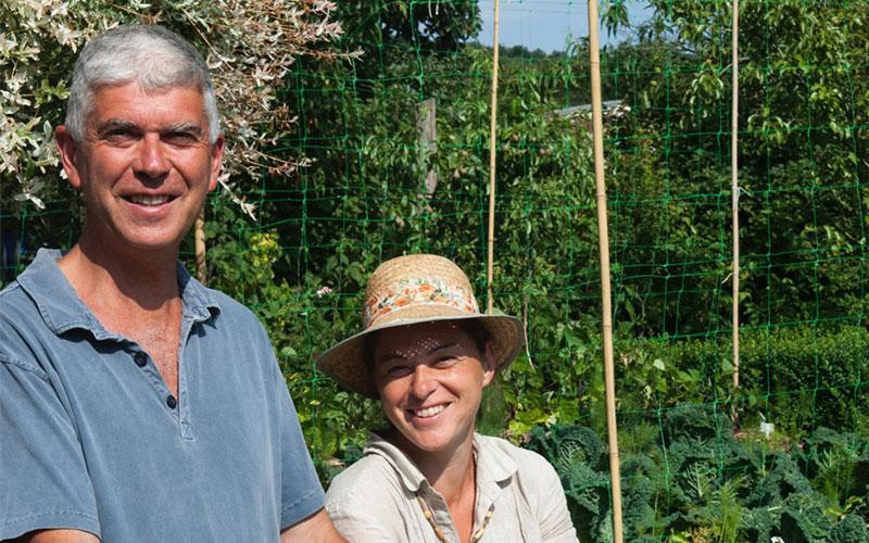 Charles et Perrine Hervé-Gruyer ©DR