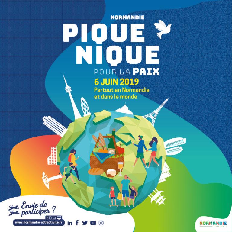 Pique-nique pour la paix - 6 juin 2019 - affiche