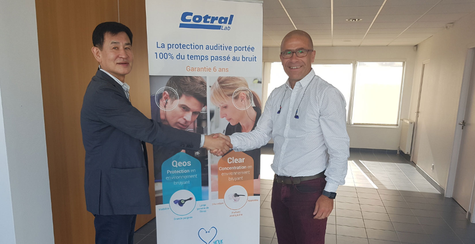 En Suisse normande, Cotral Lab, leader mondial des protections auditives sur mesure