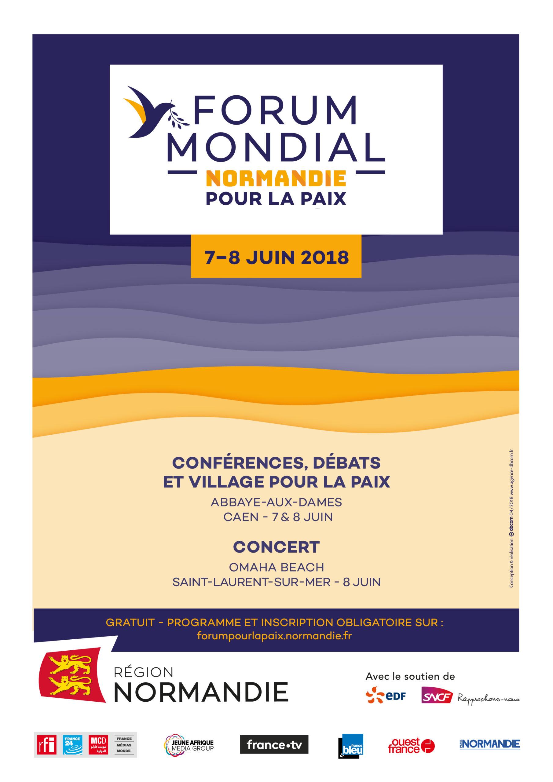 Forum Mondial pour la Paix/Région Normandie