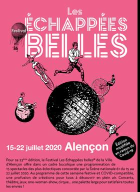 Festival Les Échappées belles à Alençon