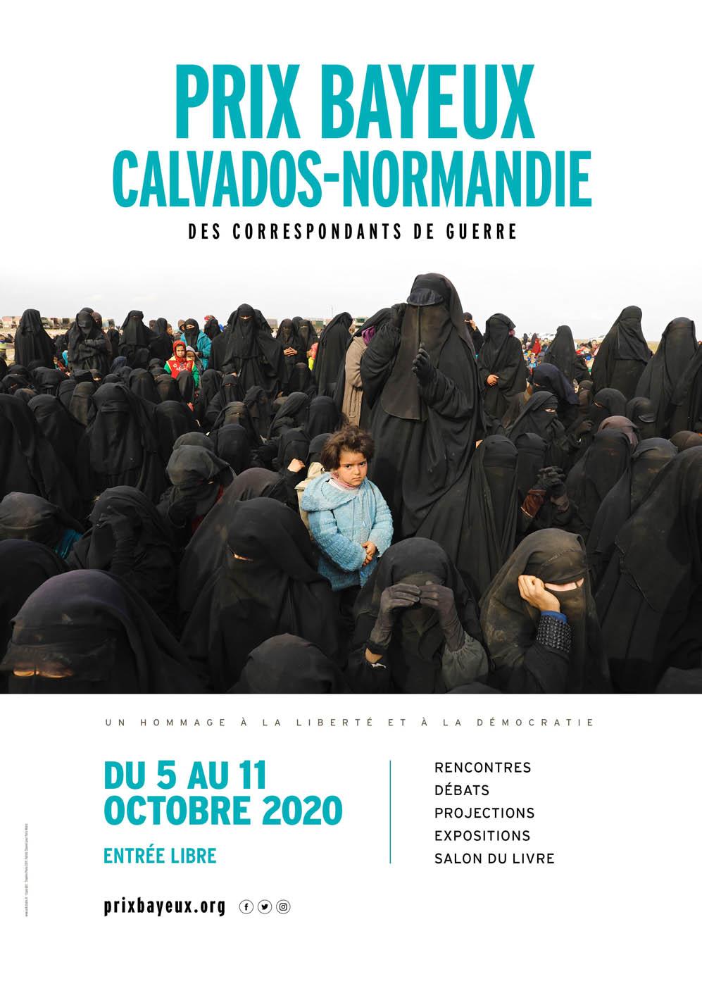 Prix Bayeux Calvados Normandie des correspondants de guerre