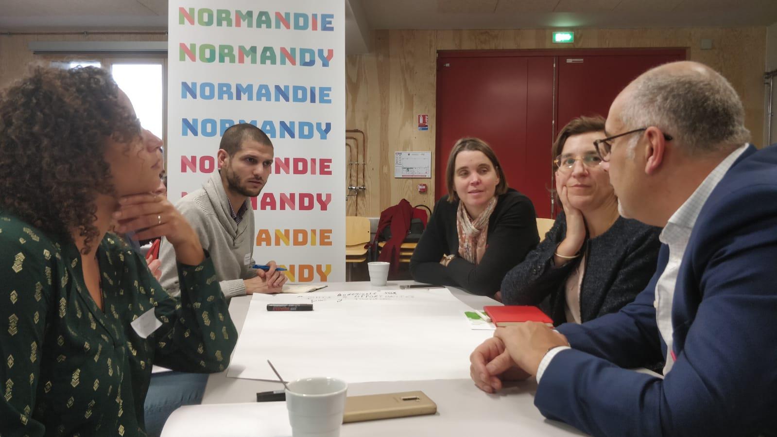 « S'installer, vivre et travailler en Normandie » – Restitution en ligne des ateliers
