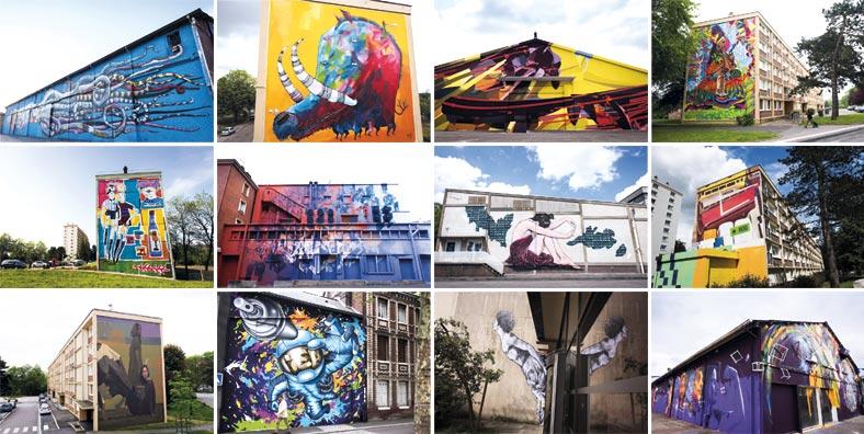 35 ans de graffiti et street art à Rouen