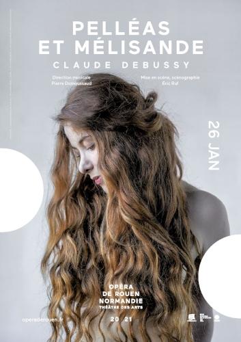 Pelléas et Mélisande en direct de l'Opéra de Rouen