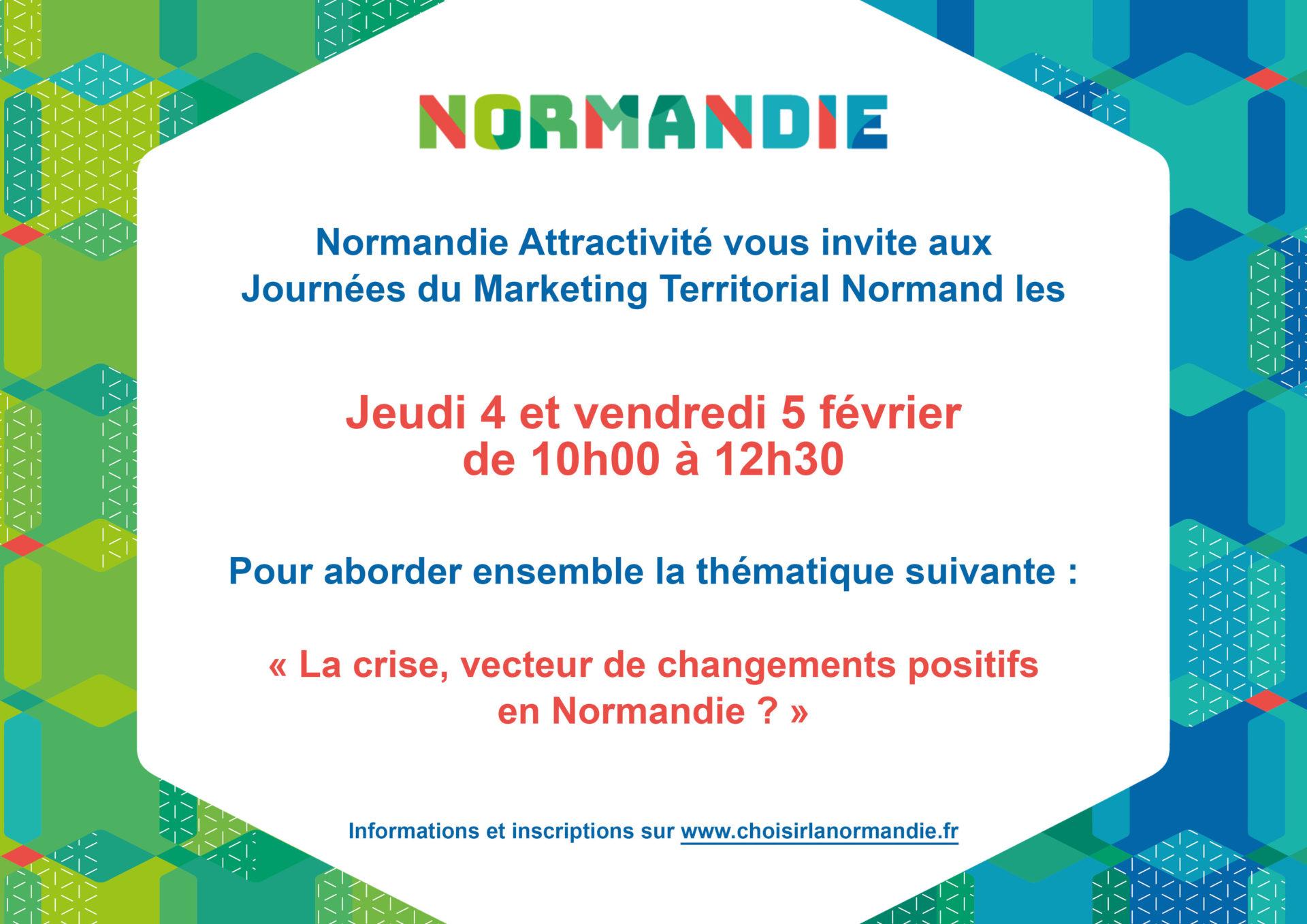 3e édition des Journées du Marketing Territorial Normand