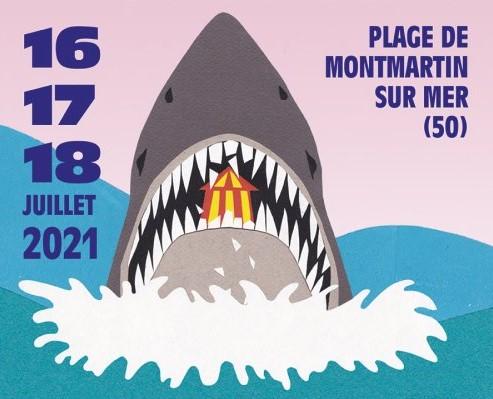 Chauffer dans la noirceur :  un festival sur la plage de Montmartin-sur-Mer