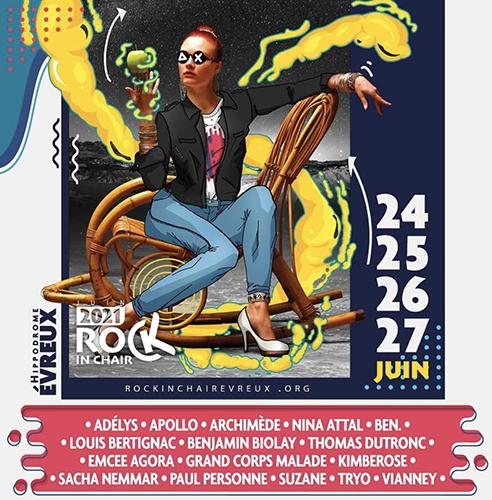 Rock in chair Evreux : un festival pour bien démarrer l'été.