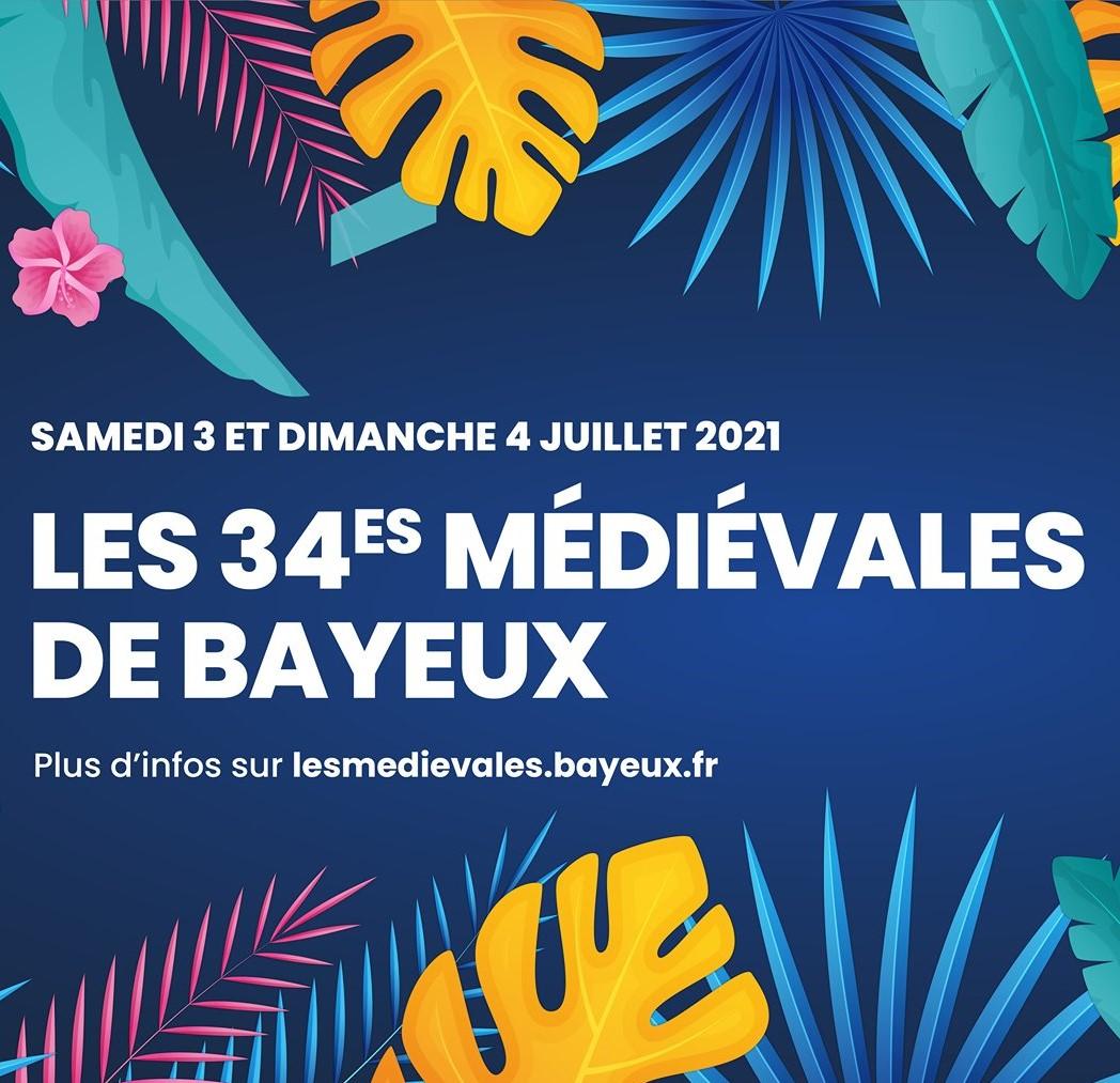 Les médiévales de Bayeux de retour, le 3 et 4 juillet !