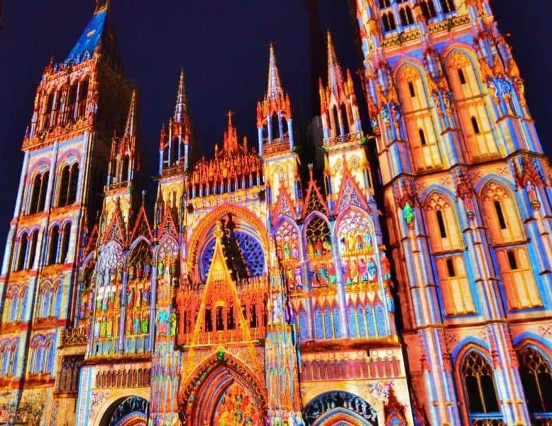 Cathédrale de Lumière à Rouen, édition 2021 !
