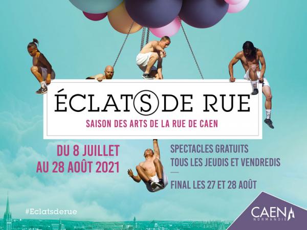 Éclat(s) de rue à Caen (14), la 7ème édition !