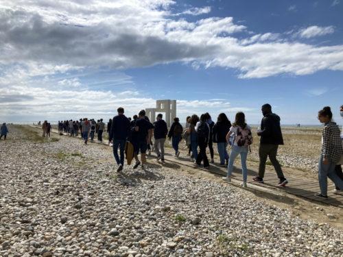 La jeunesse normande à la découverte du Havre