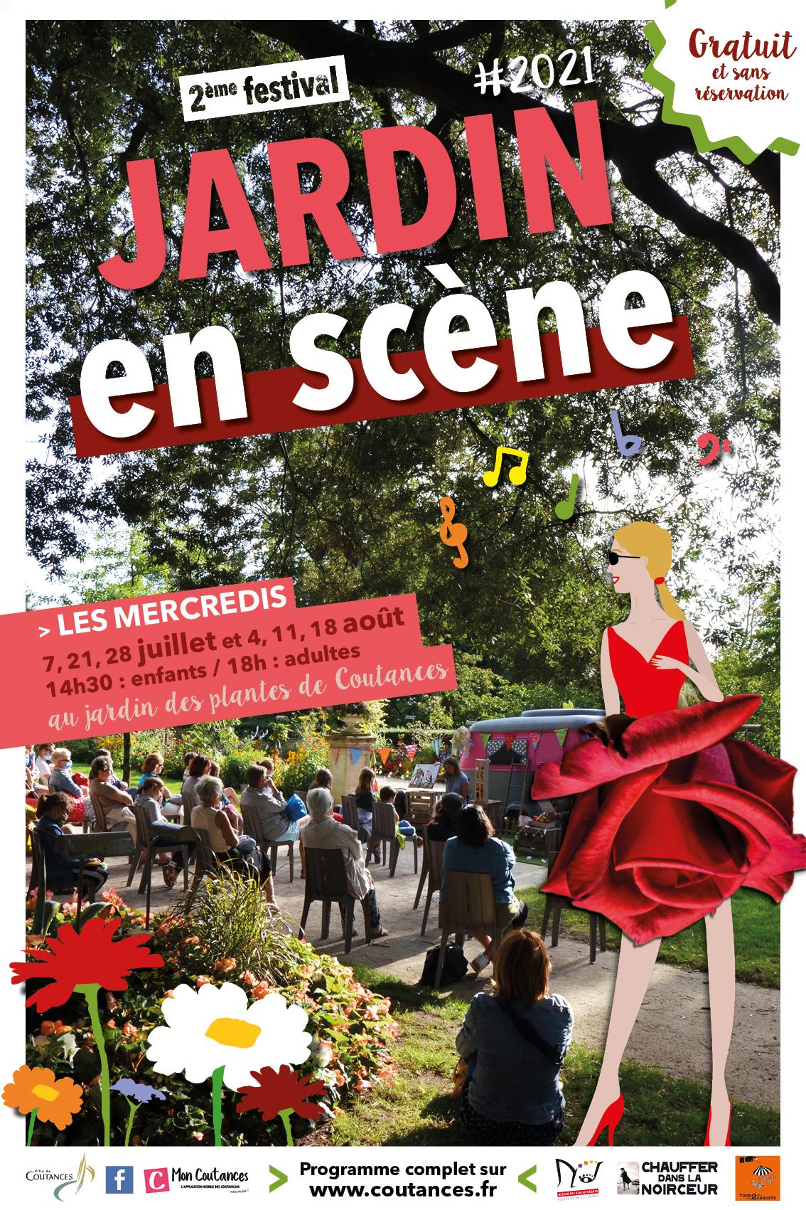 Jardin en scène, tout l'été à Coutances (50) !