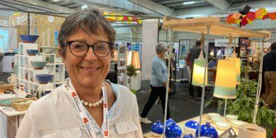 Rose-Marie Decroix, présidente du Pôle Céramique Normandie