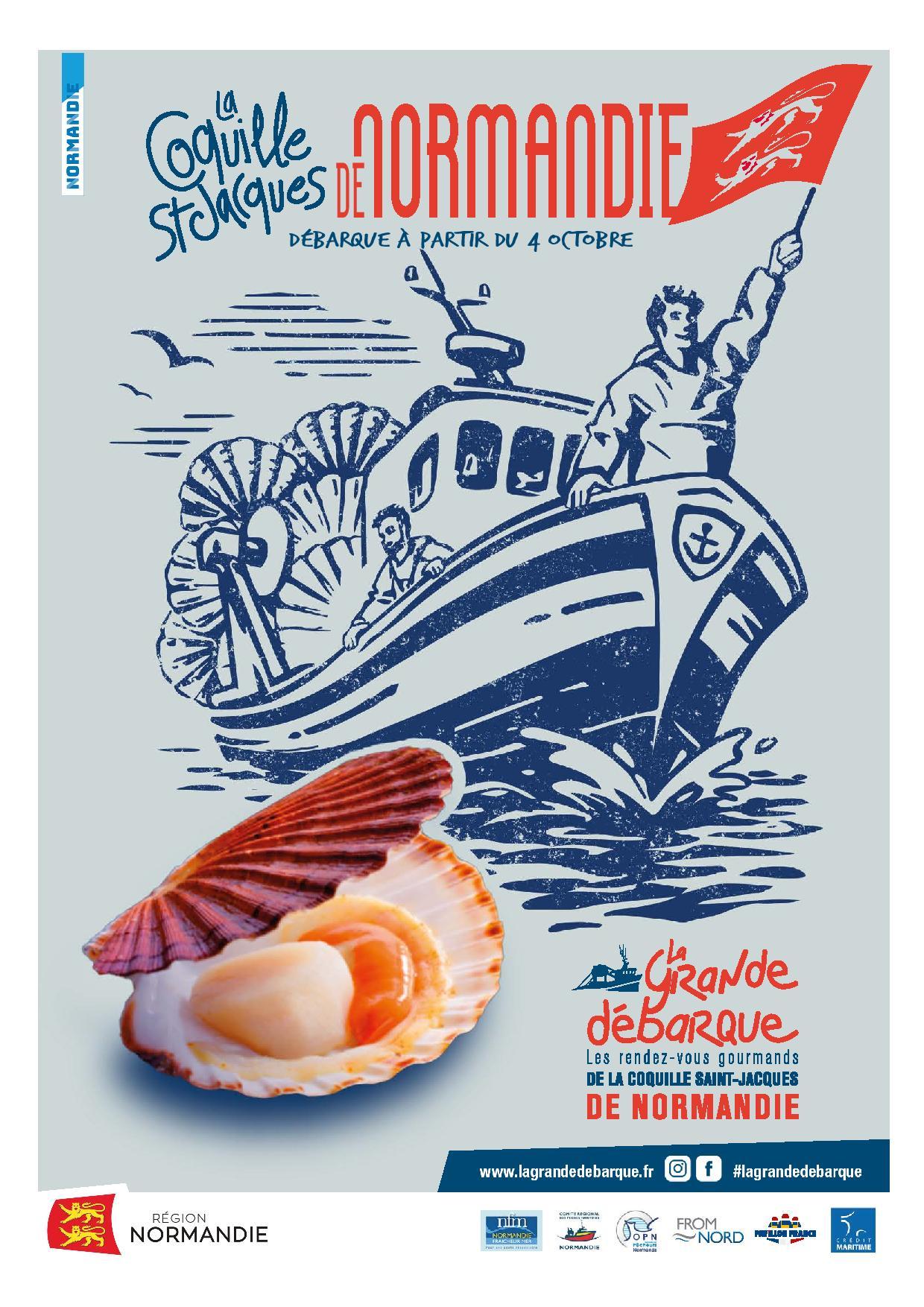 La Grande Débarque : fêtez la Coquille !